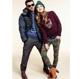 C&A winter MIX женская и мужская одежда оптом, сток