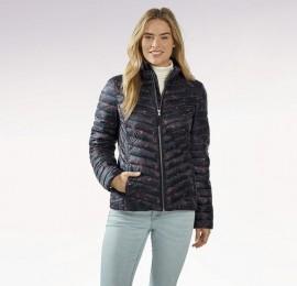 Esmara курточки женские ультралайт,цвет темно синий в цветок, размеры евро от 38 до 44, оптом сток