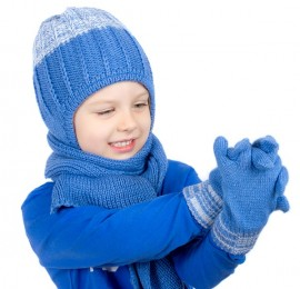 С&А детские шапки, перчатки, на возраст 2-12 лет