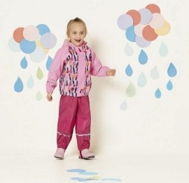 Lupilu PEPPERS детские дождевики, куртки на девочек, на рост 86-128см.
