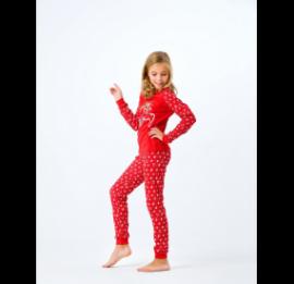 PEPPERS пижамы на рост 146-162 см, новогодний принт