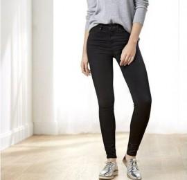 Esmara женские джинсы чёрного цвета размеры 34-50, оптом сток