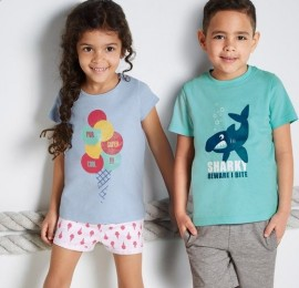 Lupilu PEPPERS летние миксы одежды для детей оптом, сток