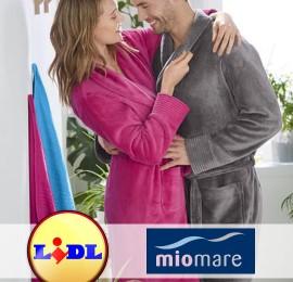 Lidl MIOMARE женские и мужские халаты оптом, сток