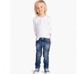 HIPP-HOPS стильные детские джинсы на рост 122/128,134/140,146/152  см, оптом сток