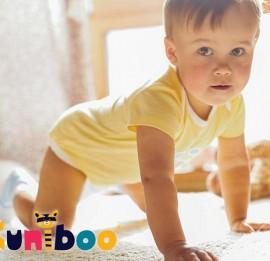Kuniboo детские бодики на девочек, сезон лето,  рост 50-92 см., оптом сток