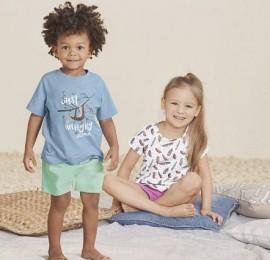 Lupilu, PEPPERS детские пижамы, сезон весна-лето, на рост 86-140см, оптом сток