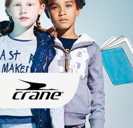 СRANE KIDS SPORT MIX детская спортивная одежда, весна-лето, оптом сток