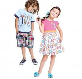 Action Kids MIX детская одежда, сезон весна-лето, рост 104-146 см, оптом сток