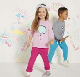 Lupilu детские трикотажные штаны, сезон весна, рост 86-116см., оптом сток
