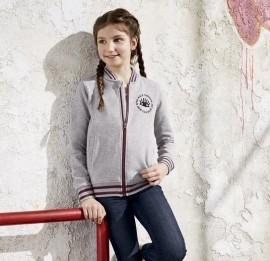 PEPPERS подростковый ромпер на девочку на флисе, рост 134/140 см, сток