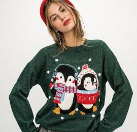 C&A новогодние свитера, свитшоты женские и мужские оптом, сток.