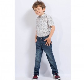 HIPP-HOPS коттоновые джинсы на мальчика