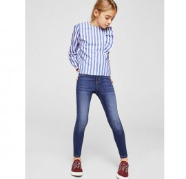 HIPP-HOPS коттоновые джинсы на девочку, высокая посадка