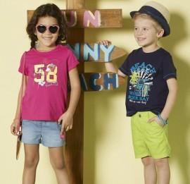 Детские футболки Lupilu PEPPERS, оптом сток