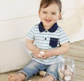 Детские футболки на мальчиков и девочек Lupilu baby, рост  55-92, оптом сток