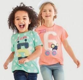 Multibrand детские футболки , рост 128-164(170) , оптом сток