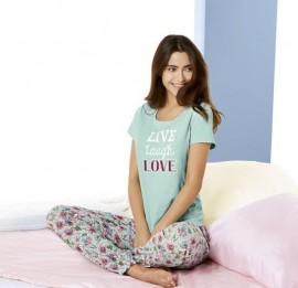 LIDL пижамы на взрослых, сезон весна, размер xs-xxl, основной s-xl, оптом сток