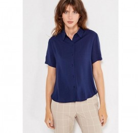 С&А женские блузы синие, размер S, m, l, оптом сток