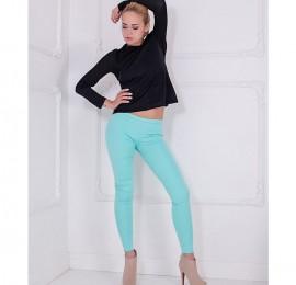 С&А женские легинсы, цвет мяты, стрейч, джинс, размер 42-50(52), оптом сток