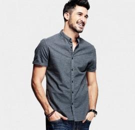 С&А  мужские рубашки летние, размер S-xl, оптом сток