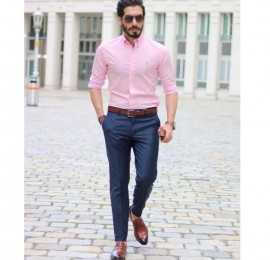 С&А  мужские рубашки весенние, размер S-xl, оптом сток
