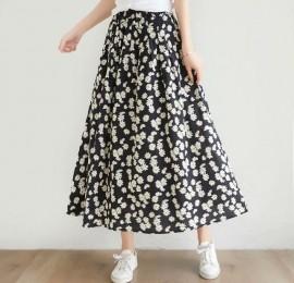 С&А женские юбки, цветочный принт, размеры 36,38,40, оптом сток