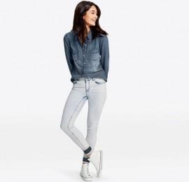 Esmara женская джинсовая рубашка, размер 44