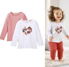 Lupilu baby детские трикотажные кофточки, футболки на малышей, размер 55-92 см, оптом сток