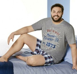 Livergy мужские летние пижамы, размеры  ххл-5хл, оптом сток