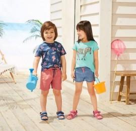 Lupilu PEPPERS микс детской одежды, возраст 0-14 лет, сезон весна-лето, оптом сток