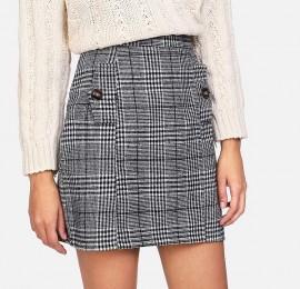 H&M женская юбка, сезон осень, оптом сток