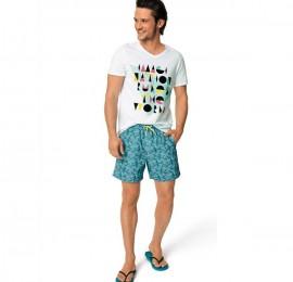 KIABI мужские пляжные шорты, размеры s-xl (xxl/3xl-единично), оптом сток