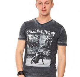 Benson & Cherry мужские футболки, поло, размеры S до 4хl, оптом сток