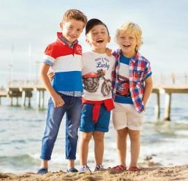 OVS детская одежда на мальчиков, сезон весна-лето, возраст 3-14 лет, оптом сток