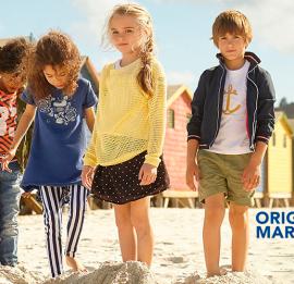 ORIGINAL MARINES детская одежда, возраст  0-16 лет, сезон весна-лето, оптом сток
