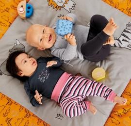 Lupilu baby детские трикотажные штаны, размер 55-92 см.