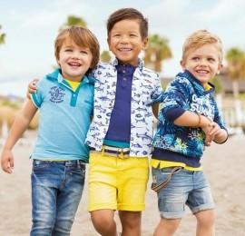 Cool Club микс весенне-летней одежды на мальчиков, рост 74/80-164/170 см, оптом сток