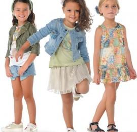 Cool Club микс весенне-летней одежды на девочек, рост 80/86-164 см