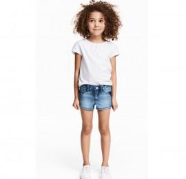 Cool Club детские шорты джинсовые, коттон, трикотаж, рост 80/86-164/170 см, оптом сток